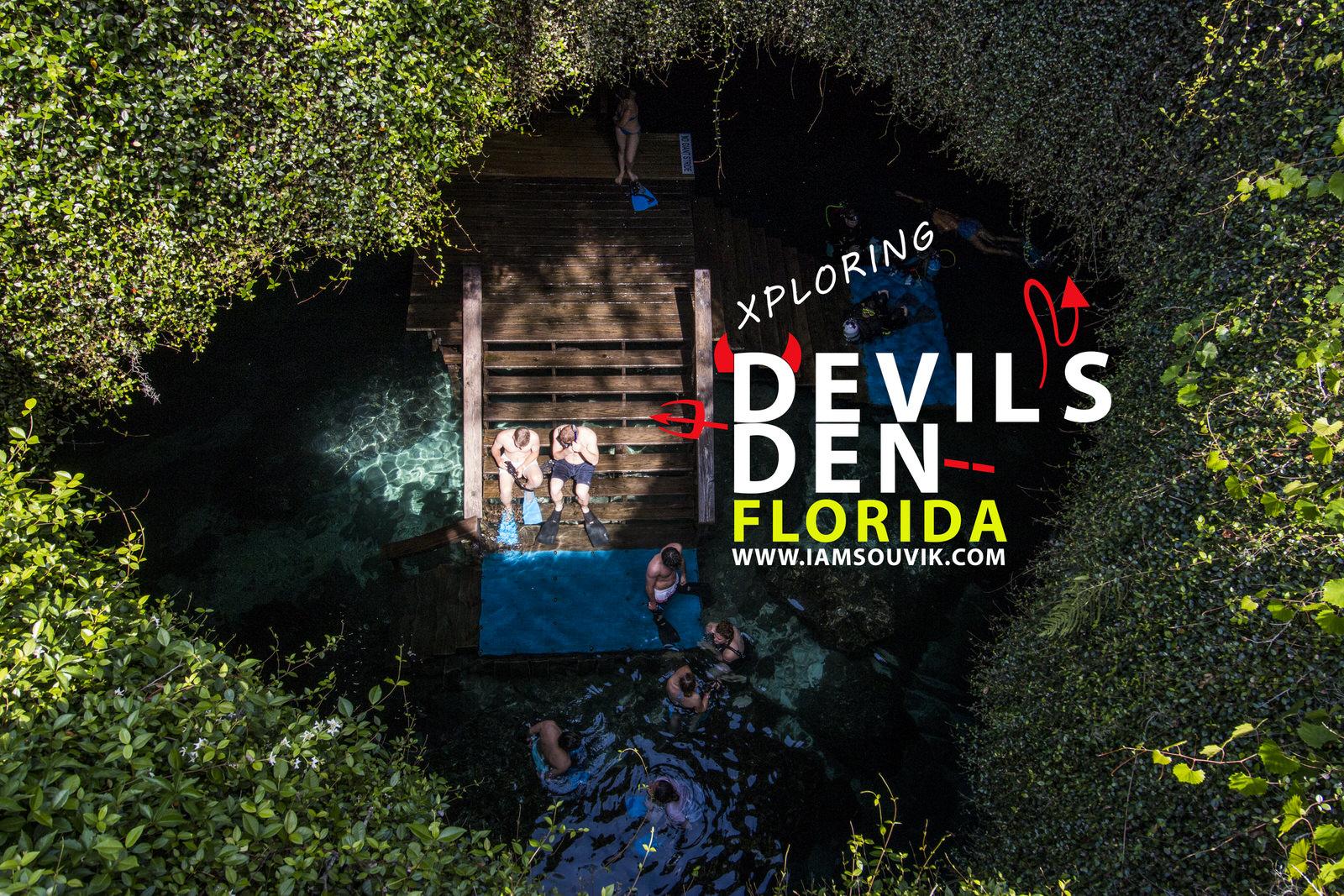 Devil's Den | Snorkeling at Florida's Pre-Historic Underground spring